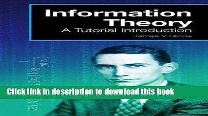 Ebook Information Theory: A Tutorial Introduction Full Online
