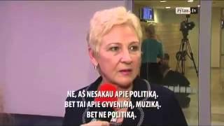 Awkward English Conversation By Lithuanian Politician.