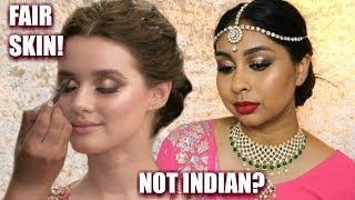 I TRIED FOLLOWING A CONTROVERSIAL INDIAN BRIDAL MAKEUP TUTORIAL