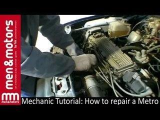 Mechanic Tutorial How to repair a Metro