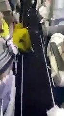 Regardez dans quel état est laissé cet avion A380 par les passagers de la compagnie Saudi Arabian Ai