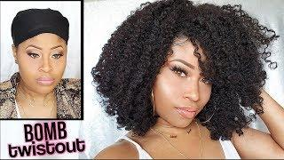 MOST REALISTIC WIG TWISTOUT... EVER! ➟ tutorial