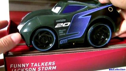 Cars 3 Funny Talkers Jackson Storm & CARS 3 Funny Talkers Cruz Ramirez  Pixar Cars 3 Car Toys