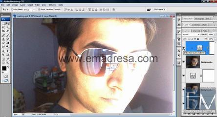 Layer Adjesment Basic Photoshop Tutorials In URDU, Hindi By Emadresa