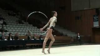 Lyubomira Kazanova Hoop Final Bulgarian Championship Elite Cat. 2011