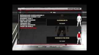 WWE '13 How To Gimmick Your CAW (Hebrew Tutorial)