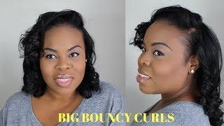 Big Bouncy Curls | Hair Tutorial | Simplyounique