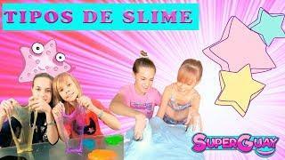 Slime casero VS Slime! Tutorial SLIME gigante con SuperGuay! MAKING SLIME