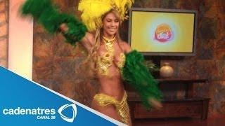 Samba Con El Ritmo Brasileiro De Juliana / Baile Brasileño