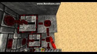 Dansk Minecraft Tutorial Piston Trappe