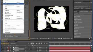 Tutorial After Effects Português - Vinheta Logomarca Com 3D Stroke