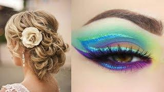 NATURAL MAKEUP TUTORIAL - BEST MAKEUP TUTORIALS - FULL  FACE  MAKEUP COMPILATION #1