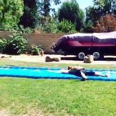 SUBSCRIBE us on YouTube   The Best Funny Water Slide Fails