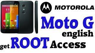 Tutorial: Root Of The Motorola Moto G [english]