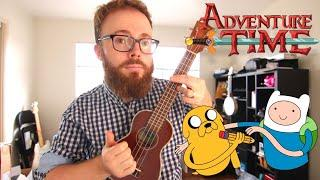 Time Adventure (Rebecca Sugar Adventure Time) Ukulele Tutorial