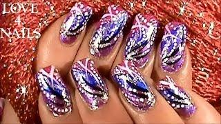 Sally Hansen Crackle Nail Polish ~ Tutorial