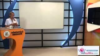 Açık Lise Türk Dil Ve Anlatım-4 Görüntülü Eğitim Seti Konu Anlatımı Demosu