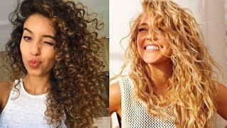 Curly Hair Don't Care - NO HEAT DAMAGE Tutorials