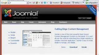 Joomla Tutorial Português Instalar Joomla! 1.5