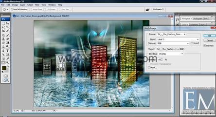 Apply Image Basic Photoshop Tutorials In URDU, Hindi By Emadresa