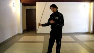 Lezione 01 Di Canne Italiana (Bastone) - Italian Stick Fencing Tutorial 01 (with English Subs!!)