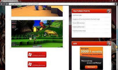 tutorial 28-descargar cube world(gratis)
