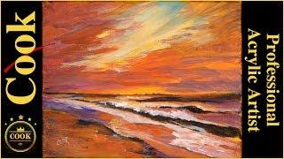 Perfect Antidote for Acrylic Painting Stress a Tutorial for Beginner - Advanced Artist
