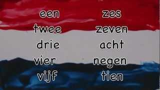 To Count In Dutch / Tellen In Het Nederlands / Lessons Dutch Language Numbers / Nederlandse Les