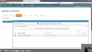 MultiSocialSuite - English Tutorial - How To Add Facebook And Twitter Profiles