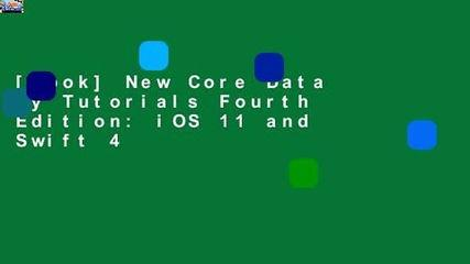 [book] New Core Data by Tutorials Fourth Edition: iOS 11 and Swift 4