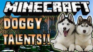 Minecraft 1.7.2 - Review De Doggy Talents MOD - ESPAÑOL TUTORIAL