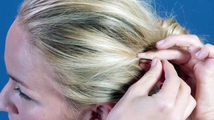 attaching bobby pins properly