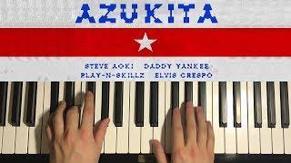 HOW TO PLAY - AZUKITA (Piano Tutorial Lesson)