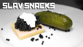 Slav snacks - Slav party tutorial