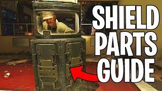 How To Build The SHIELD on CLASSIFIED Tutorial (Black Ops 4 Classified Shield Parts Guide)
