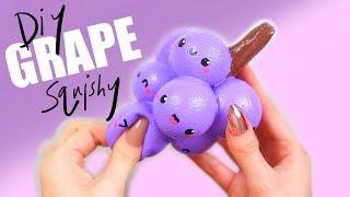 HOMEMADE GRAPE SQUISHY (TUTORIAL!)