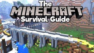 Building a Medieval Bridge! ▫ The Minecraft Survival Guide (Tutorial Lets Play) [Part 44]