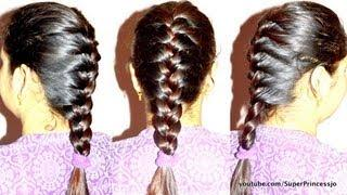How To Basic French Braid Hair Tutorial Step By Step Instructions