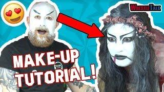 IMPACT Wrestling's Su Yung Make-Up Tutorial!