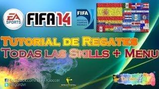 FIFA 14 - Tutorial De Todos Los Regates (Tutorial Interactivo Rápido + Menu) | ESPAÑOL