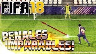 FIFA 18 - COMO TIRAR PENALES IMPARABLES | TUTORIAL Y TRUCO