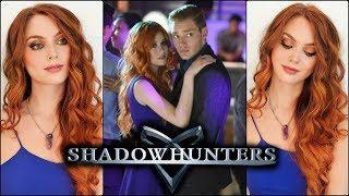 "Clary Fray ""Shadowhunters"" Makeup Tutorial & Copper Hair | Katherine McNamara"
