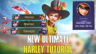 Never Suck With Harley Again - Ultimate Harley Tutorial   Mobile Legends (Eng Sub)
