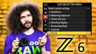 Nikon Z6 User's Guide | Tutorial / How To (BUTTONS, DIALS and SETTINGS)