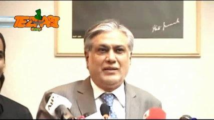 Ishaq Dar Warns India Funny  Tezabi Totay 2016