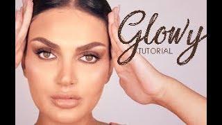 Glowy Bronze Makeup Tutorial With Marilyn | مكياج برونزي مشرق مع ماريلين