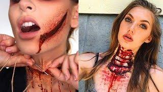 Creepiest Halloween Makeup Tutorials 2018 | SFX Makeup Compilation