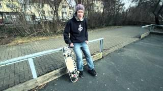 How To Do An Ollie - German/Deutsch - Skate Trick Tutorial - Ollie Lernen
