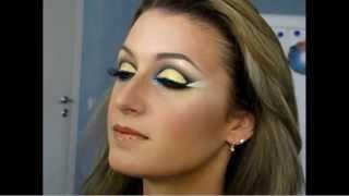 Arabic Make-Up Tutorial Восточный макияж