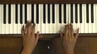Mozart Turkish March Piano Tutorial V.1 Easy Version